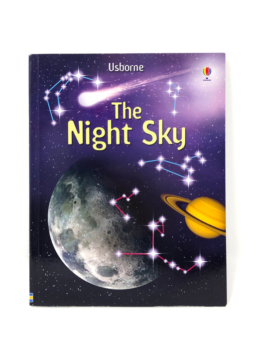 The Night Sky-Usborne (Used-Like New) - Little Green Schoolhouse Books