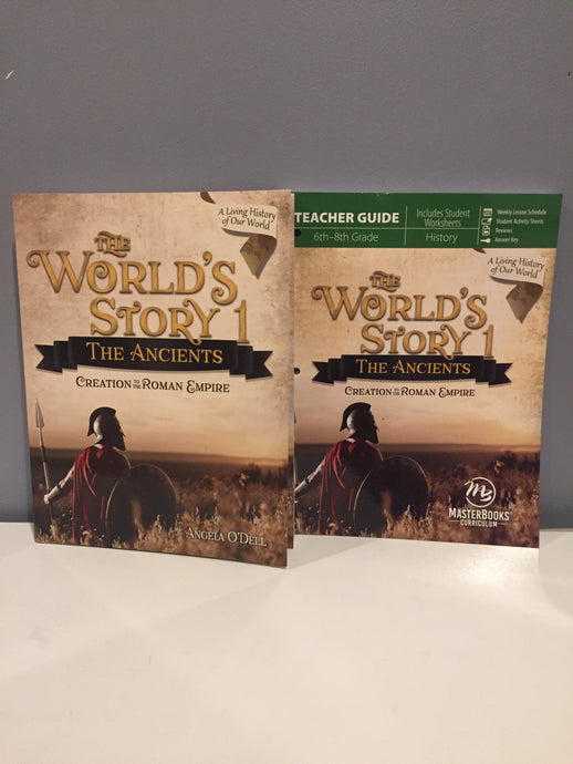 The World's Story 1: The Ancients Set (New)