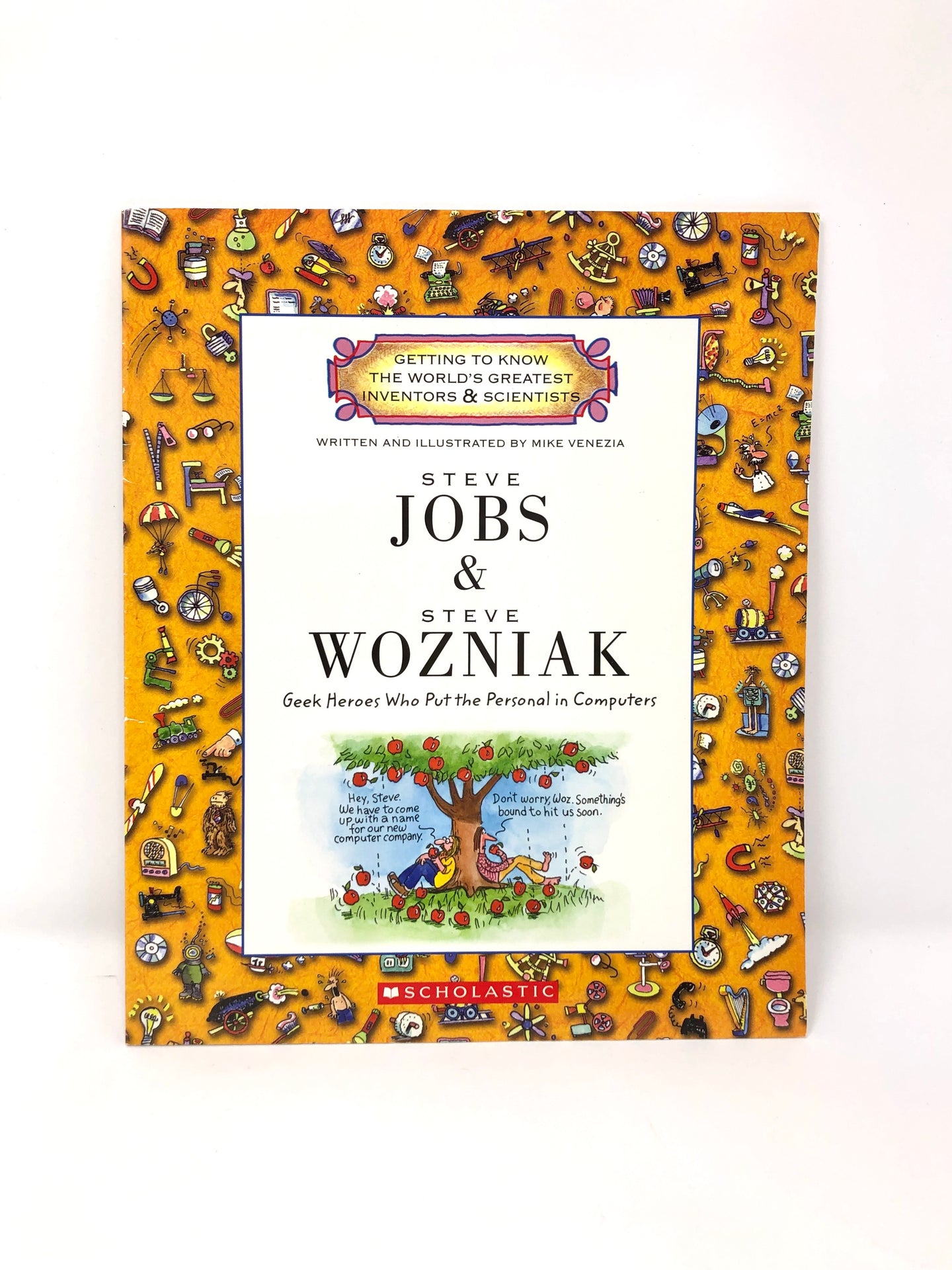 Steve Jobs & Steve Wozniak: Geek Heroes Who Put the Personal in Computers (Used-Like New) - Little Green Schoolhouse Books