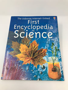 First Encyclopedia of Science - Usborne (Used - Good) - Little Green Schoolhouse Books