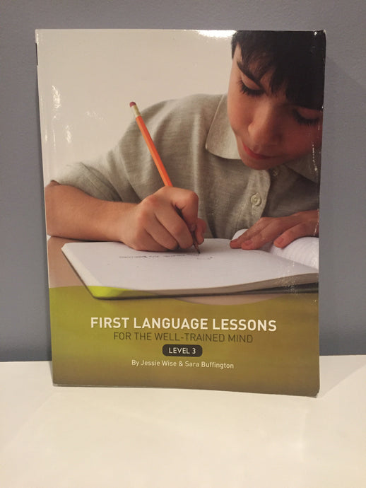 First Language Lessons for the Well-Trained Mind Level 3 Instructor's Guide (Used-Like New)