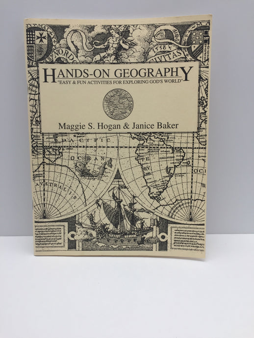 Hands-On Geography-1st Edition (Bargain Basement) - Little Green Schoolhouse Books