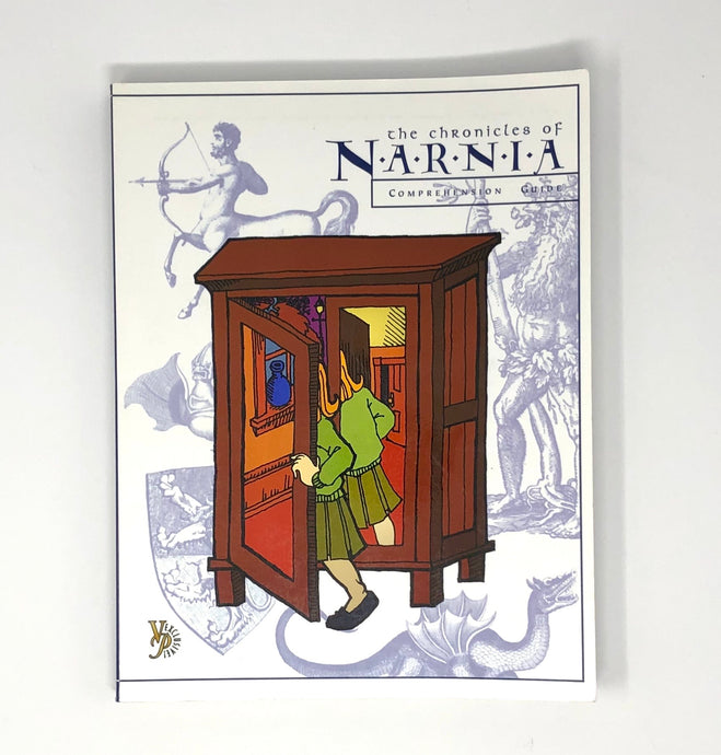 The Chronicles of Narnia Comprehension Guide-Veritas Press (Used-Like New) - Little Green Schoolhouse Books