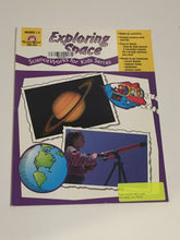 Load image into Gallery viewer, Exploring Space, Science Works for Kids Series (Used- Like New) - Little Green Schoolhouse Books