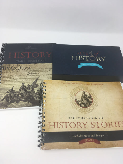 History Year 1 Course Set - The Good and The Beautiful With Game (Used-Good)