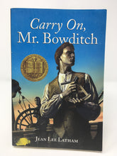Load image into Gallery viewer, Carry On, Mr. Bowditch by Jean Lee Latham (Used-like new) - Little Green Schoolhouse Books