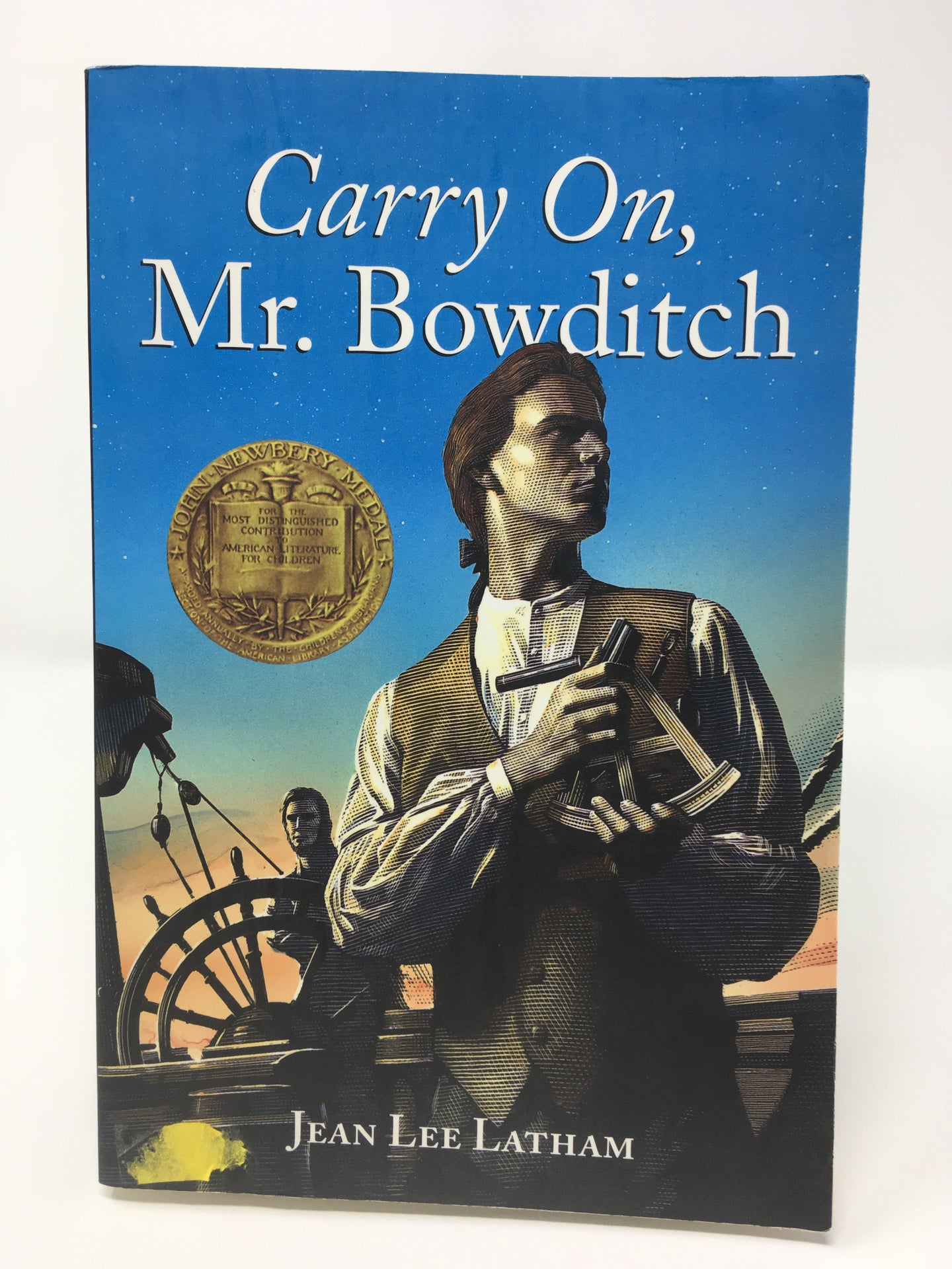 Carry On, Mr. Bowditch by Jean Lee Latham (Used-like new) - Little Green Schoolhouse Books