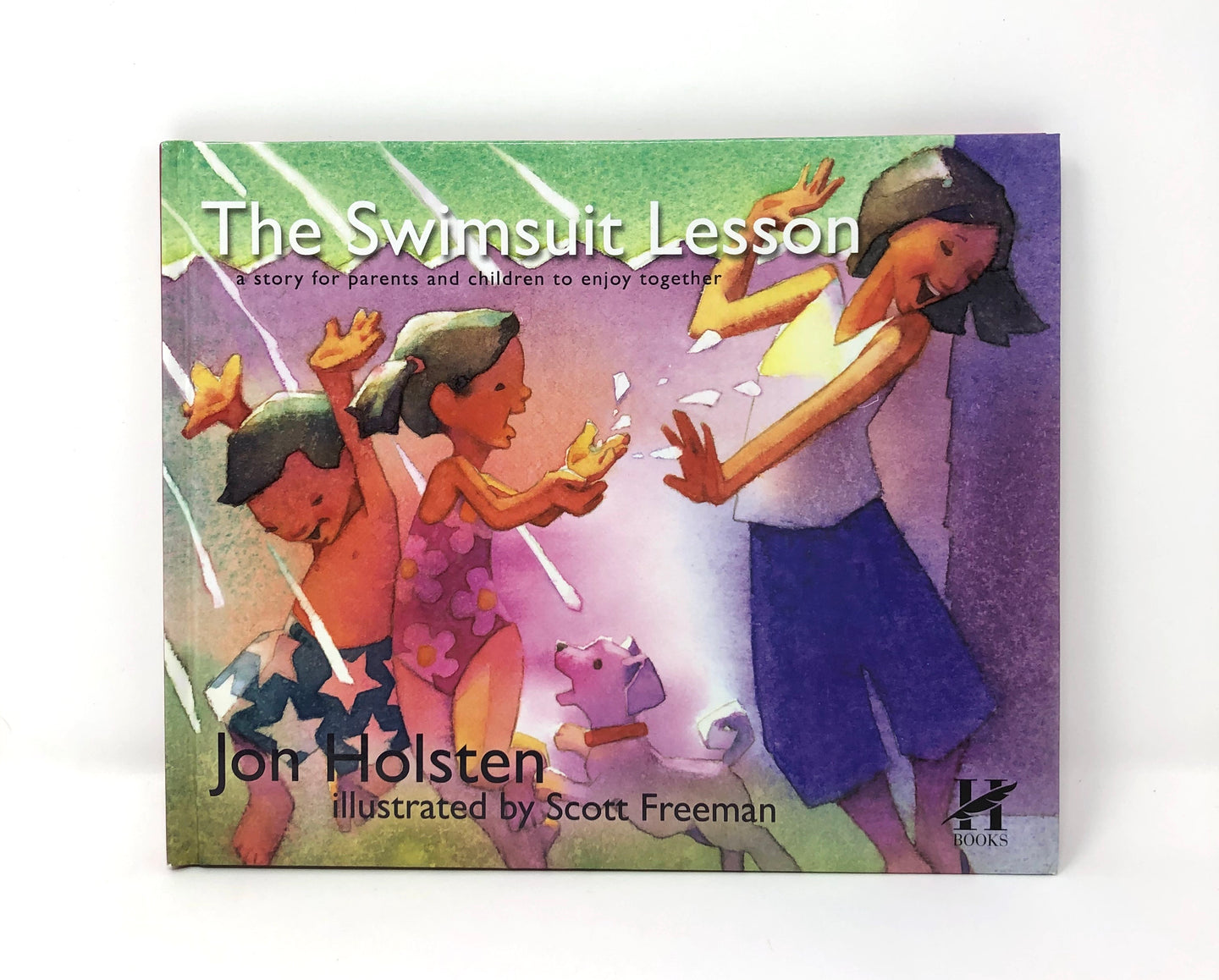 The Swimsuit Lesson: a story for parents and children to enjoy together-John Holsten (Used-Like New) - Little Green Schoolhouse Books