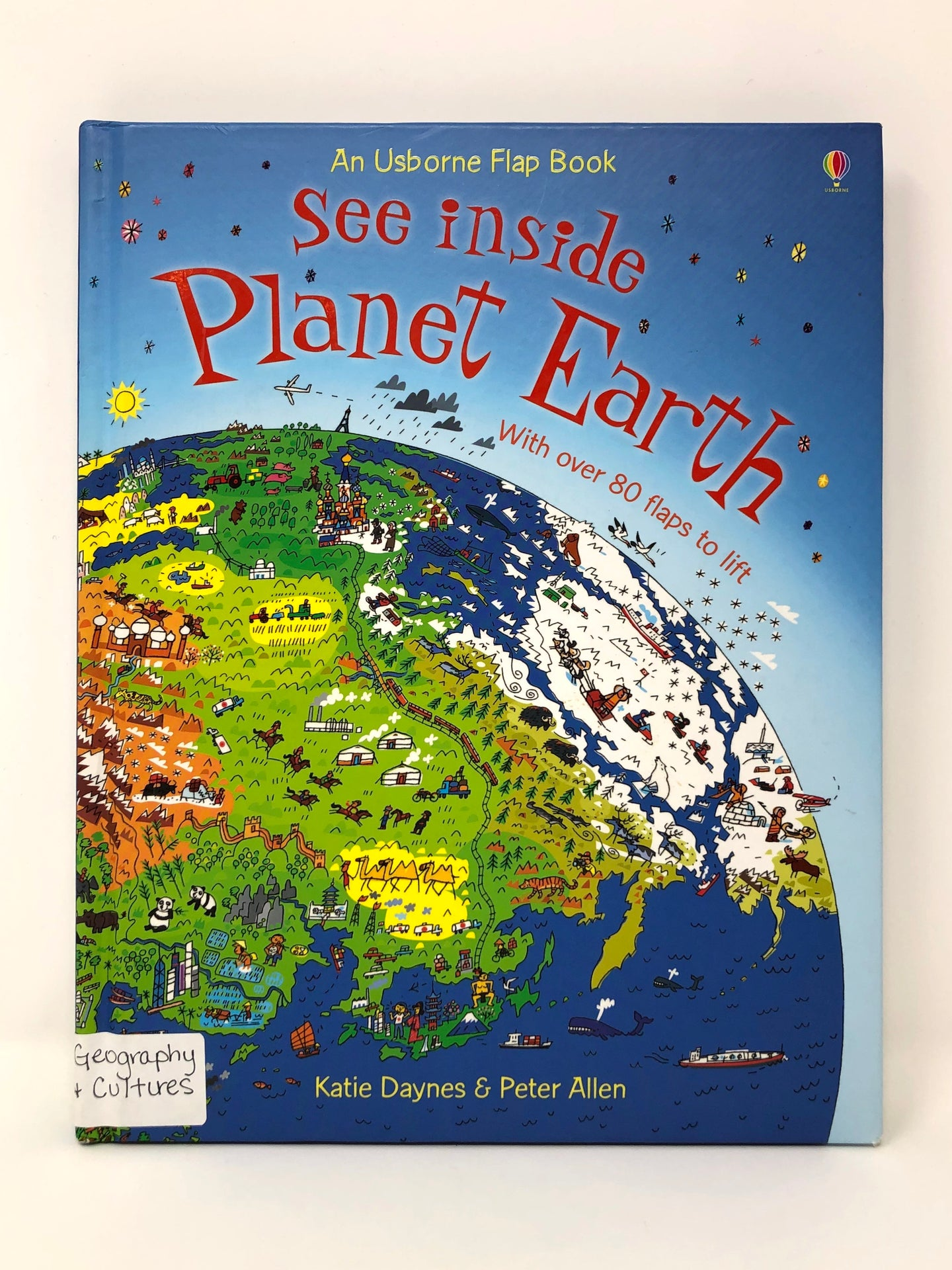 See Inside Planet Earth - An Usborne Flap Book (Used-Like New)