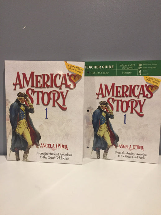 America's Story: From the Ancient Americas to the Great Gold Rush: Volume 1 SET (Used- Like New)
