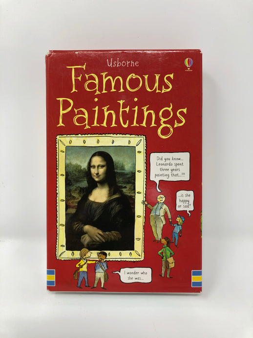 Famous Paintings Activity Cards-Usborne (Used-Like New) - Little Green Schoolhouse Books