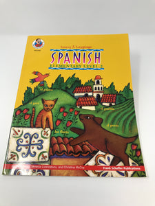 Spanish Elementary Level 2 (Learn a Language) - Used - Like New - Little Green Schoolhouse Books