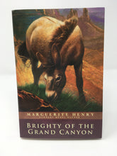 Load image into Gallery viewer, Brighty of the Grand Canyon- by Marguerite Henry (used-like new) - Little Green Schoolhouse Books