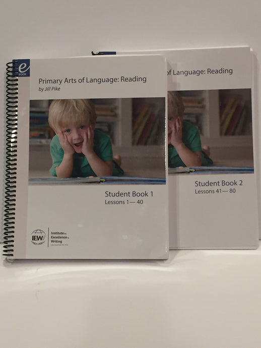 Primary Arts of Language: Reading Student Book 1 and 2  IEW (Used-Like New) - Little Green Schoolhouse Books