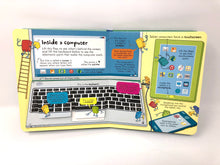 Load image into Gallery viewer, Look Inside How Computers Work-Usborne (Used- Like New) - Little Green Schoolhouse Books