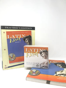 Latin Alive! Book 1 Program (Used - Good) - Little Green Schoolhouse Books