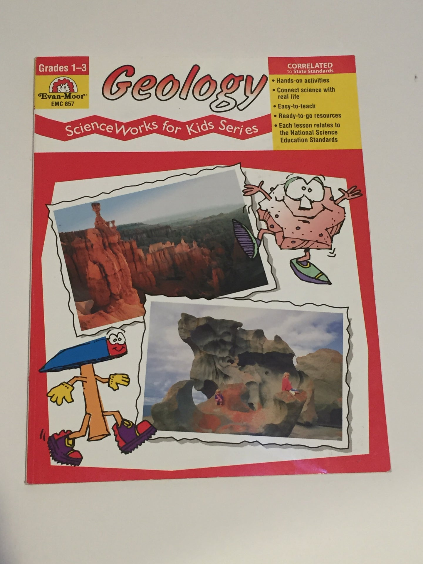 Geology, Science Works for Kids Series (Used- Like New) - Little Green Schoolhouse Books