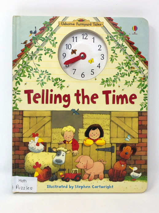 Telling the Time - Usborne Farmyard Tales (Used-Good)