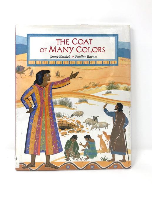 The Coat of Many Colors-Jenny Koralek (Used-Good) - Little Green Schoolhouse Books