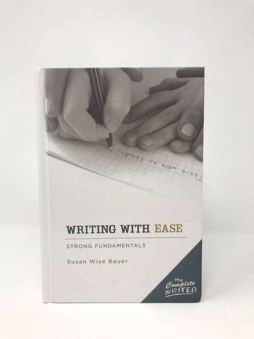 Writing With Ease Instructor Text (Used-Like New)