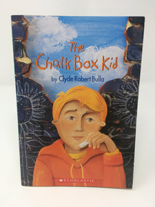 The Chalk Box Kid - Clyde Robert Bulla (Used-Good) - Little Green Schoolhouse Books