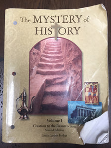 The Mystery of History Volume 1 - 2nd edition (Worn/Acceptable) - Little Green Schoolhouse Books