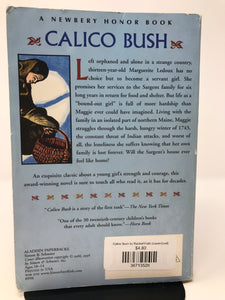 Calico Bush by Rachel Field (Used-Good) - Little Green Schoolhouse Books