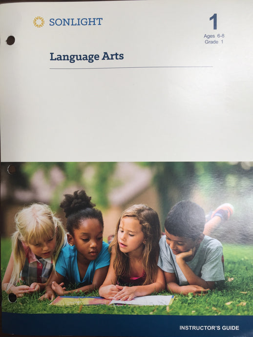 Sonlight Language Arts Level 1 (Includes Grade 1 Reader schedule) 2015 Version (Used-Good) - Little Green Schoolhouse Books