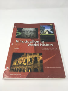 Introduction to World History Part 1 (2005 edition) -Sonlight (Bargain Basement) - Little Green Schoolhouse Books