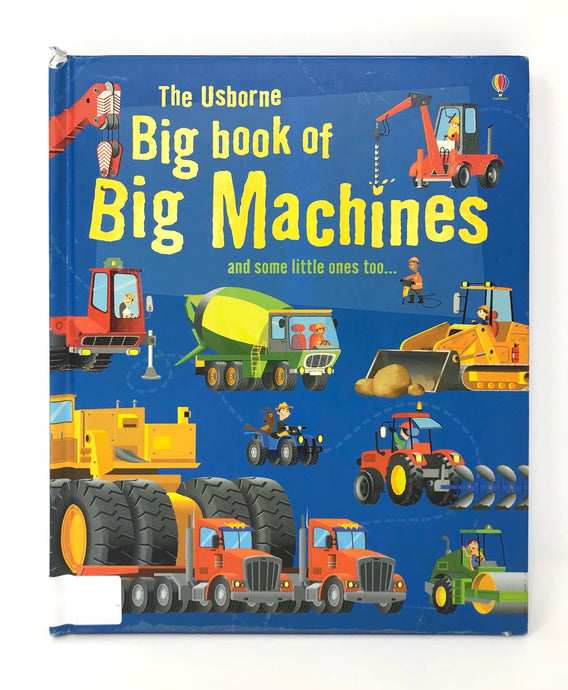 The Usborne Big Book of Machines (Used-Good)