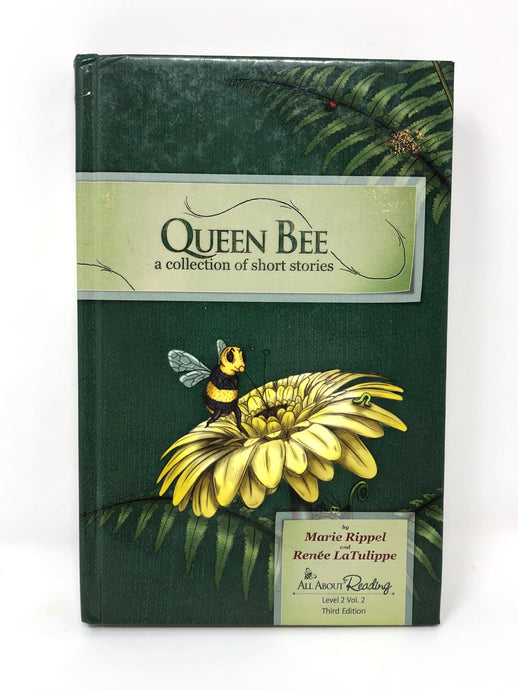 All About Reading Level 2 Vol. 2- Queen Bee Reader- Black & White edition (Used-Good)