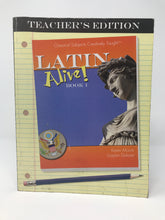 Load image into Gallery viewer, Latin Alive! Book 1 Program (Used - Good) - Little Green Schoolhouse Books