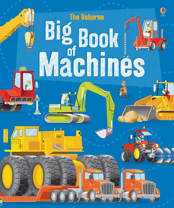 The Usborne Big Book of Machines (Used-Like New)