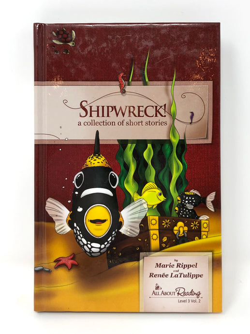 All About Reading - Level 3 Vol. 2 - Shipwreck!: A Collection of Short Stories - Black & White edition (Used-Like New)