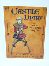 Load image into Gallery viewer, Castle Diary: The Journal of Tobias Burgess by Richard Platt (Used-Like New) - Little Green Schoolhouse Books