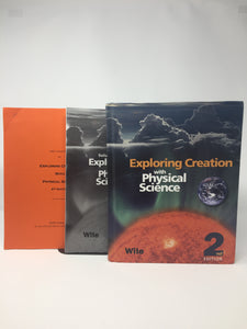 Exploring Creation with Physical Science Basic Set (2nd Edition) Apologia (Used-Good)) - Little Green Schoolhouse Books