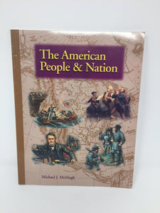 The American People & Nation (Used - Like New) - Little Green Schoolhouse Books