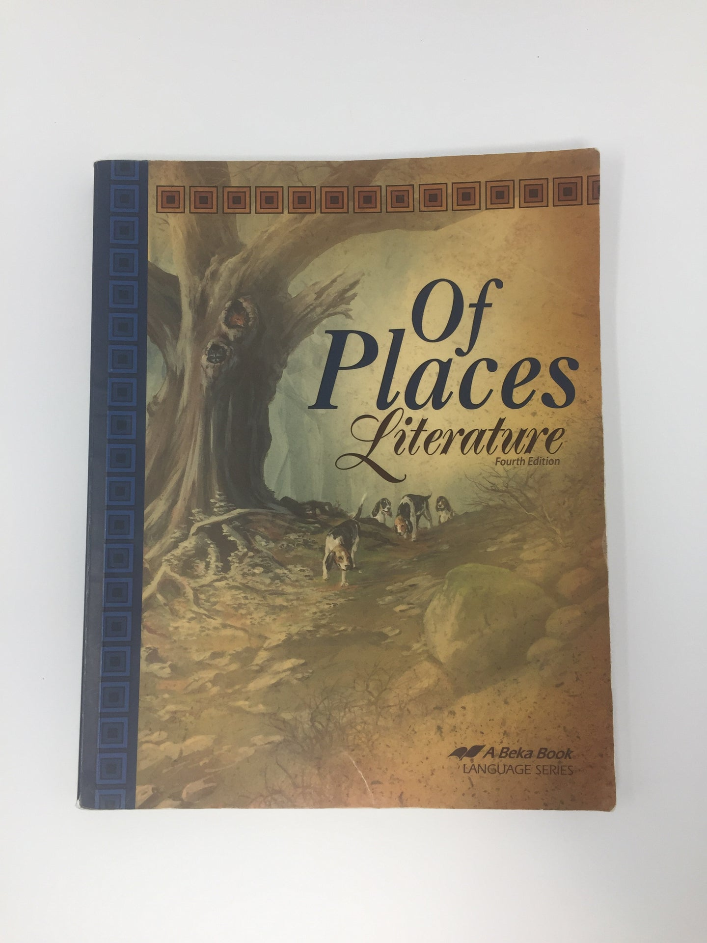 Of Places Literature (4th Edition) Abeka (Used - Good) - Little Green Schoolhouse Books