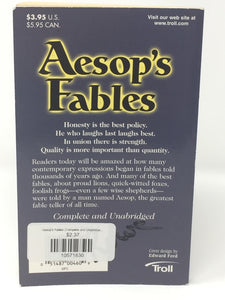 Aesop's Fables (Complete and Unabridged Classics) (Used-Good) - Little Green Schoolhouse Books