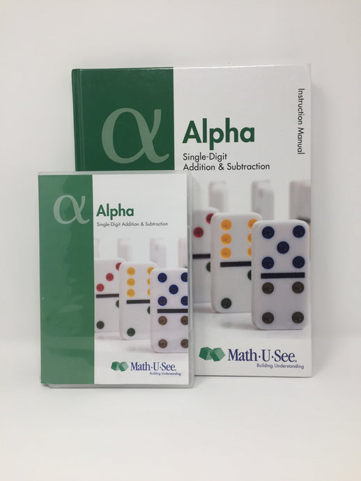 Math U See Alpha- (Used-Like New) - Little Green Schoolhouse Books