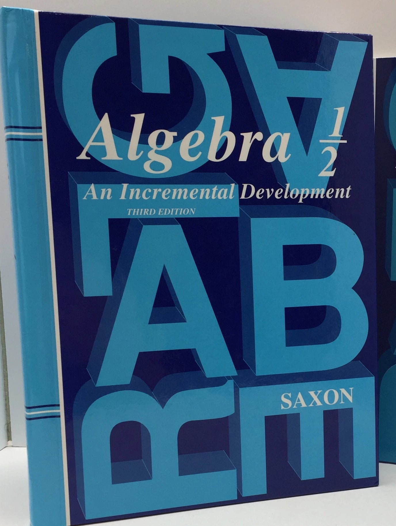 Saxon Algebra 1/2 Student Book(3rd Edition) (Used-Good) - Little Green Schoolhouse Books