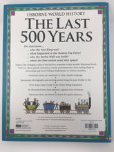 Load image into Gallery viewer, Last 500 Years, Usborne World History (used-like new) - Little Green Schoolhouse Books