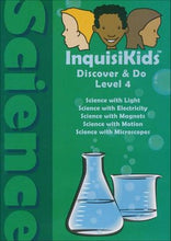 Load image into Gallery viewer, InquisiKids Discover & Do Science Level 4 DVD (used) - Little Green Schoolhouse Books