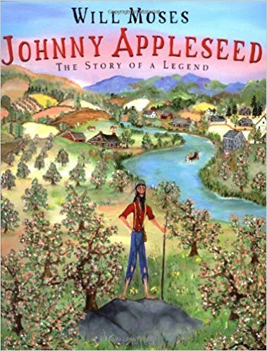 Johnny Appleseed: The Story of a Legend Hardcover (used) - Little Green Schoolhouse Books