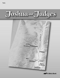Abeka Joshua and Judges Tests (used-like new) - Little Green Schoolhouse Books
