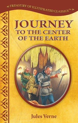 Journey to the Center of the Earth (Treasury of Illustrated Classics) (used) - Little Green Schoolhouse Books