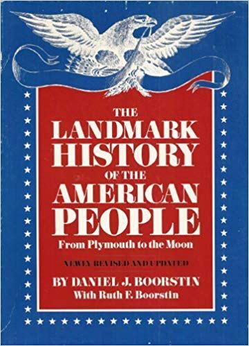 The Landmark History of the American People- From Plymouth to the Moon (Bargain Basement) - Little Green Schoolhouse Books