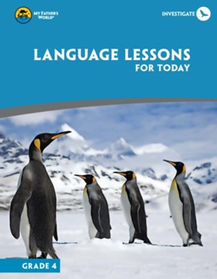 Language Lessons For Today, Grade 4 (Used - Good) - Little Green Schoolhouse Books