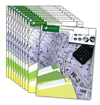 LIFEPAC Accounting Set (new) - Little Green Schoolhouse Books