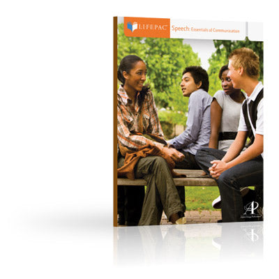 LIFEPAC: Essentials of Communication Set (new) - Little Green Schoolhouse Books